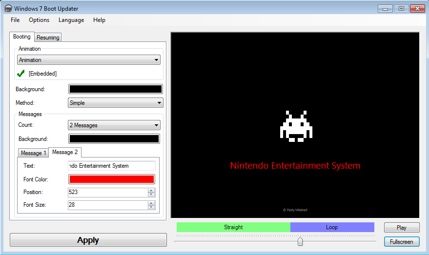 NES Boot Win7