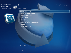 Win 7 GameEx first start