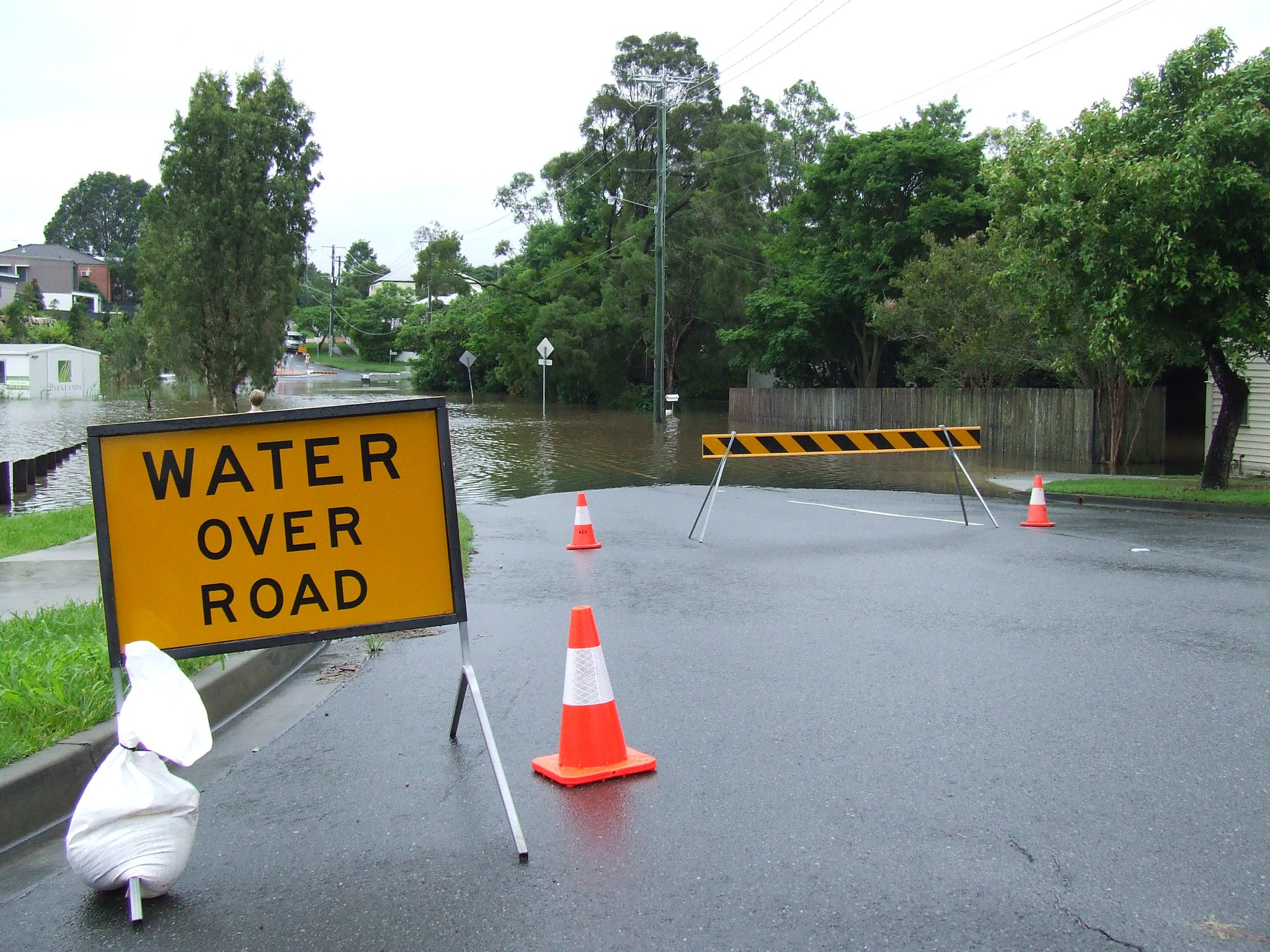 2011 Queensland Floods – Tuesday 11th January (part 1)